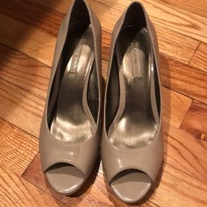 Bandolino open toe heels